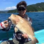 宿毛湾のタイラバでハタやマゴチを釣る