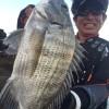 中国 北海でのチヌ釣り その2