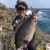 大型尾長グレを釣りに男女群島へ出発!